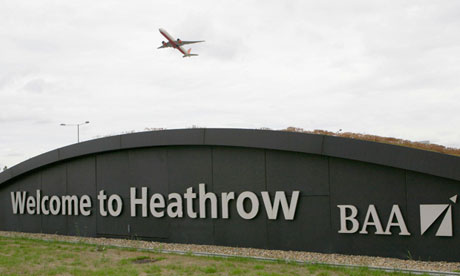 Heathrow airport