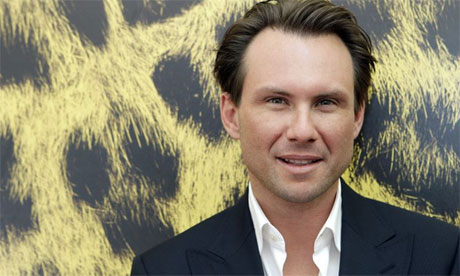 Christian Slater. Photograph: Martial Trezzini/AP