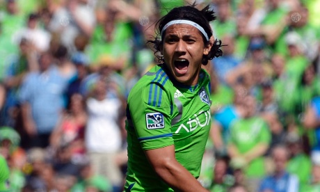 Fredy Montero Seattle Sounders