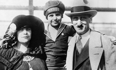 Jackie Coogan and his parents