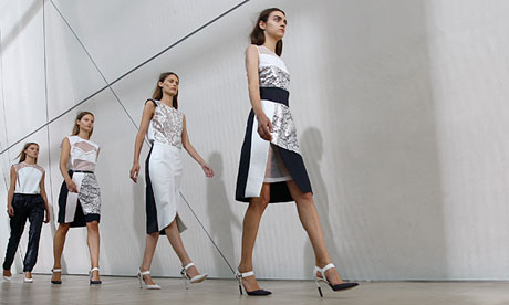 Preen's spring/summer 2013 collection unveiled at London fashion week
