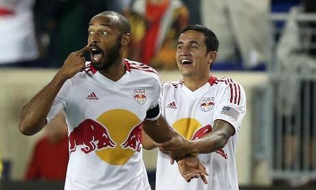 Thierry Henry Tim Cahill New York Red Bulls MLS