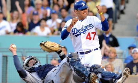 LA Dodgers' Luis Cruz