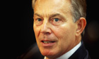 Tony Blair says west must ratchet up pressure on Assad