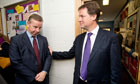 Clegg and Gove School visit