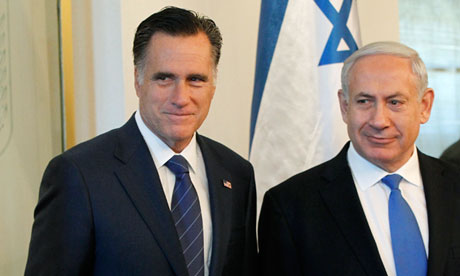 Mitt Romney and Netanyahu