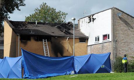 South Wales house fire