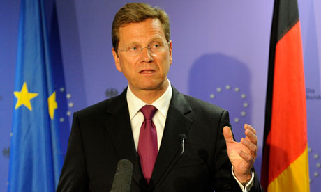 Germany's foreign minister, Guido Westerwelle, who launched the EU foreign policy proposals