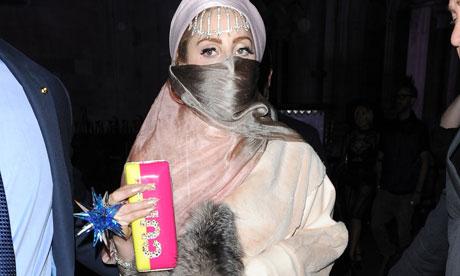 Lady Gaga at London Fashion Week