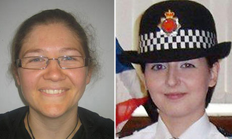 Fiona Bone, left, and Nicola Hughes were killed while attending what appeared to be a routine incident.