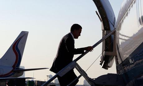 Mitt Romney plane