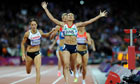 Top viewing: Jessica Ennis wins gold at the Olympics.