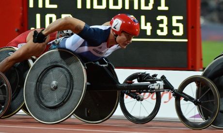 David Weir has won an epic men's T54 5,000m