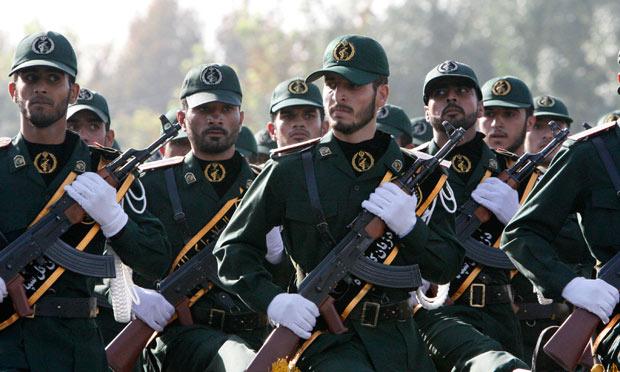 Iranian revolutionary guards
