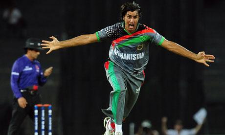 Afghanistan cricketer Shapoor Zadran