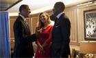Obama Beyonce and Jay-Z
