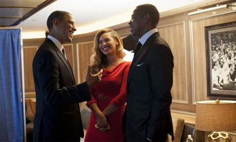 Obama Beyonce and Jay-Z