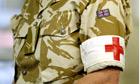 British medic in Afghanistan