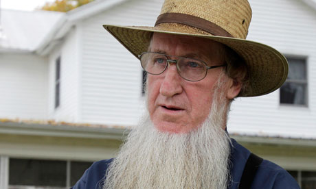 Amish man Sam Mullet