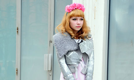 Smart kid: 16-year-old Tavi Gevinson has already published her first anthology.