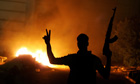 Libyan protesters force Islamist militia out of Benghazi
