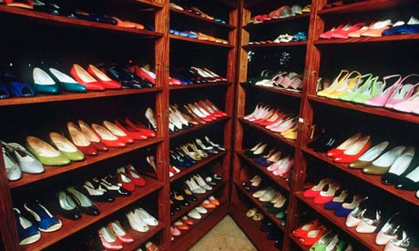 Imelda Marcos's shoes in 1987