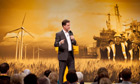 Nick Clegg at the Liberal Democrat conference in Brighton