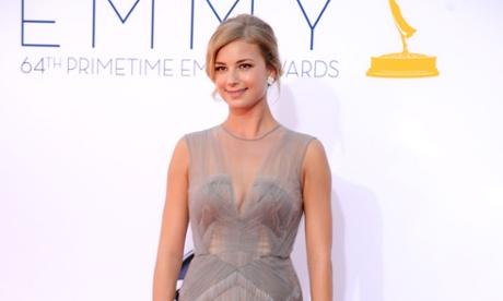 Revenge star Emily VanCamp arrives at the Primetime Emmy Awards at the Nokia Theatre in LA