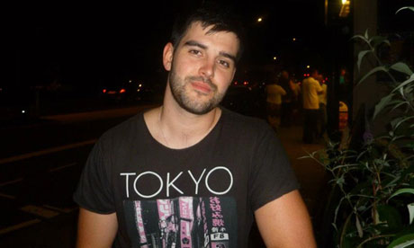 Gareth Benjamin is in his second year of studying social work at Plymouth ...