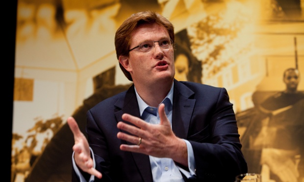 Danny Alexander answers an audience member during  his Q&A session at the Liberal Democrat conference.