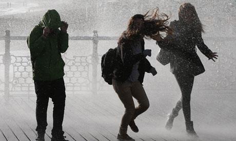 Rain in Brighton