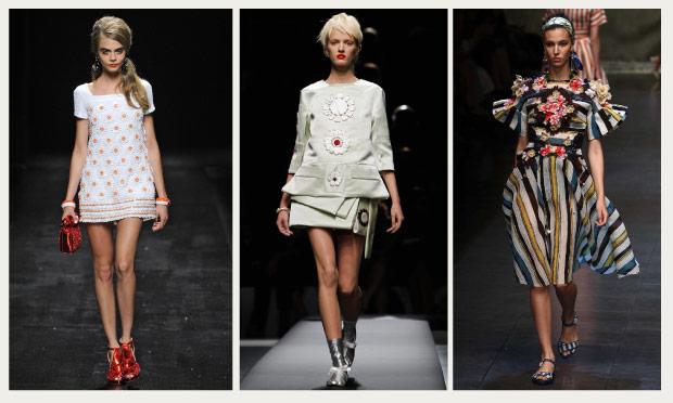 Milan trends: Milan: Flowers use