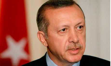 Turkish prime minister Recep Tayyip Erdogan. The so-called Sledgehammer Coup trial marks a lowpoint for Turkey's miltary.