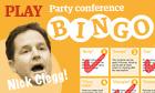 Nick Clegg bingo