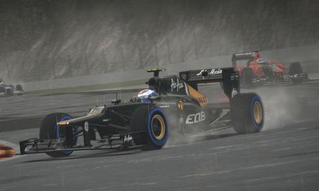 F1 2012 rain