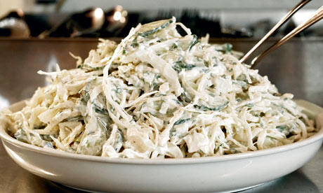 Staff meals: St John cabbage salad