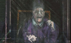 Francis Bacon's Untitled (Pope) (detail)