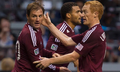 Colorado Rapids Jamie Smith Jeff Larentowicz