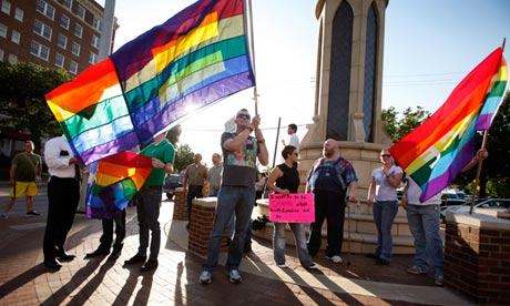 Although certain states in the US recognise same-sex marriage, those unions ...
