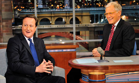 Cameron on Letterman