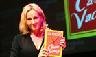 JK Rowling launches her first novel for adults