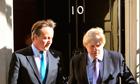 David Cameron and Boris Johson