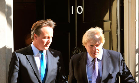 David Cameron and Boris Johson