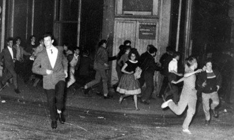 Teenagers Notting Hill race riots 1958
