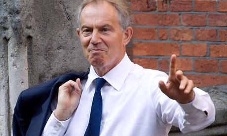 Blair at Leveson May 2012