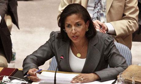 UN ambassador Susan Rice