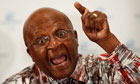 Archbishop Emeritus Desmond Tutu in Cape Town