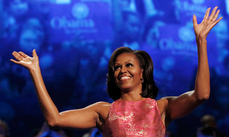 First lady Michelle Obama at DNC