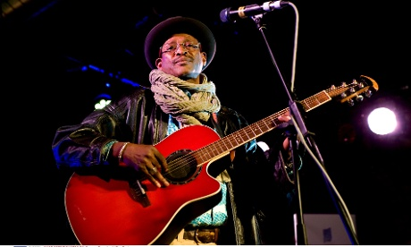 Afel Bocoum,  Africa Express at The Arches, Glasgow 04 Sep 2012