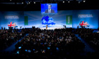 David Cameron Conservative party conference 2011
